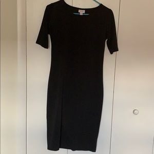 Solid Black Julia Dress